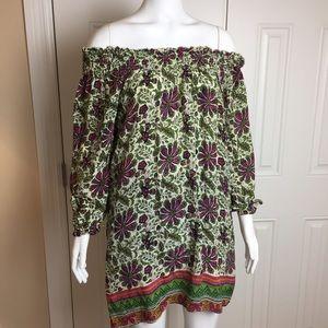 Tolani Silk Dress Size Medium